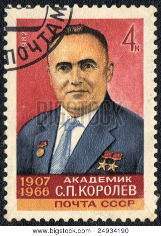 Portrait Of Sergei Korolev