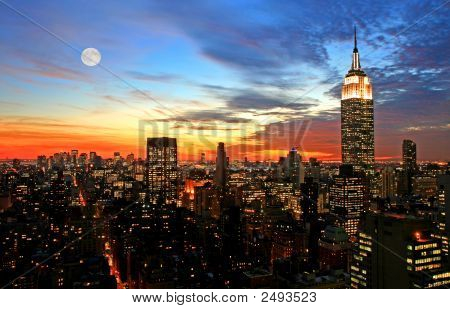 Midtown New York City skyline