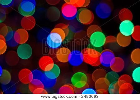 Bright Lights Abstract