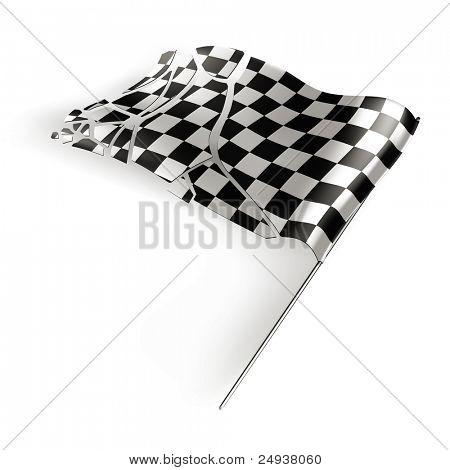 Checkered flag destroyed, 10eps