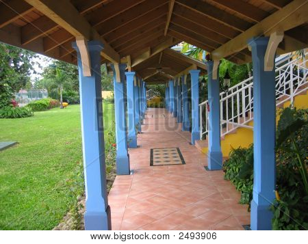 Covered Walkway In Jamaica