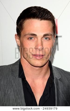 LOS ANGELES - NOV 3:  Colton Haynes arrives at the AFI FEST 2011 Presented By Audi -
