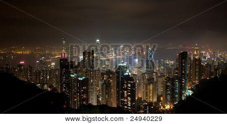 Hong Kong Panoramic View