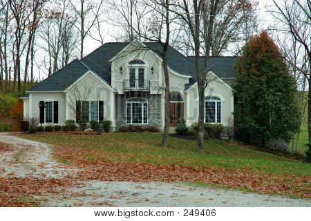 Country House In Autumn