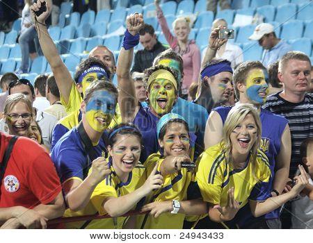 Ukrainian soccer fans