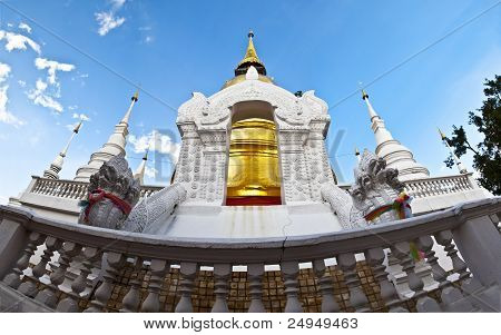 Buddhist temples.