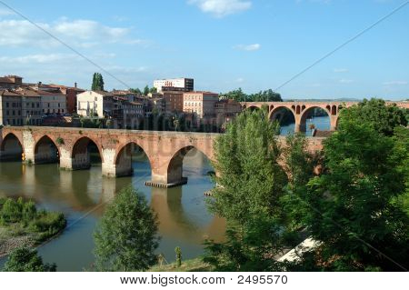 Bridges Of Albi - France