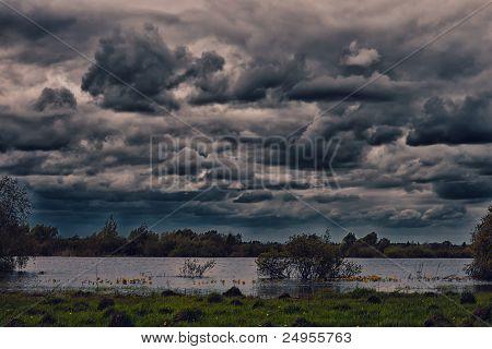 Storm landscape
