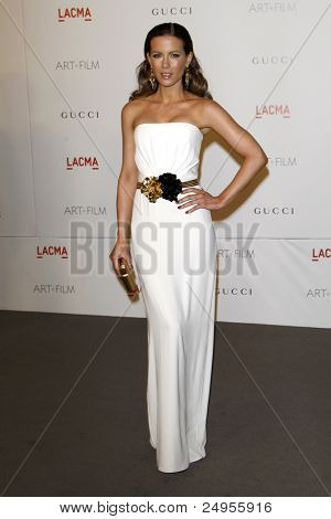 LOS ANGELES - NOV 5:  Kate Beckinsale arrives at the LACMA Art + Film Gala at LA County Museum of Art on November 5, 2011 in Los Angeles, CA