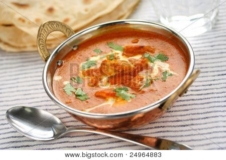 butter chicken , indian cuisine