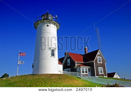 Nobska Lighthouse, Usa..