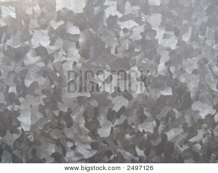 Zinc Plated Metal Surface. Abstract Background Texture.