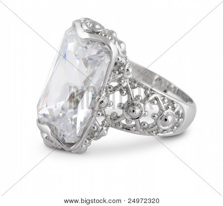Ring Isolated On White