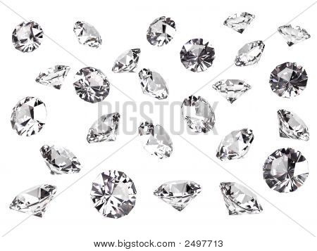 Several Diamonds