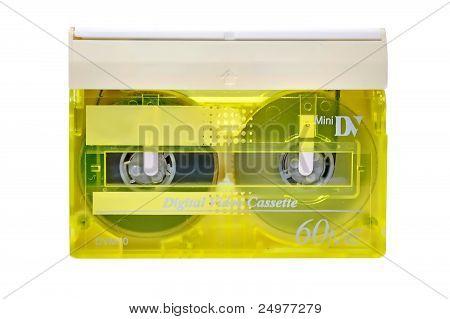 Mini Dv Cassette Close Up