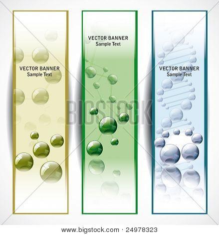 Molecular  web banners.