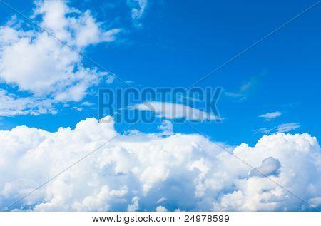 Blue Clouds Skies