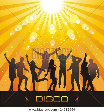 Disco evening.