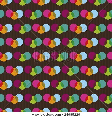 Seamless retro ornament pattern in vector