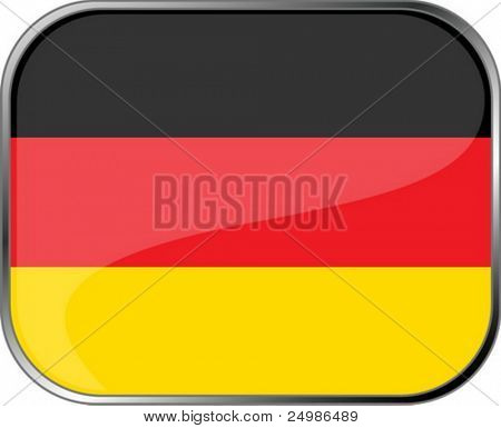 Germany flag icon with official coloring
