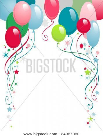happy birthday  background with space for text