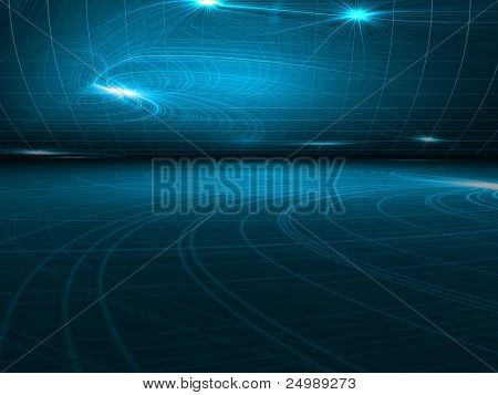 Modern 3d abstract background
