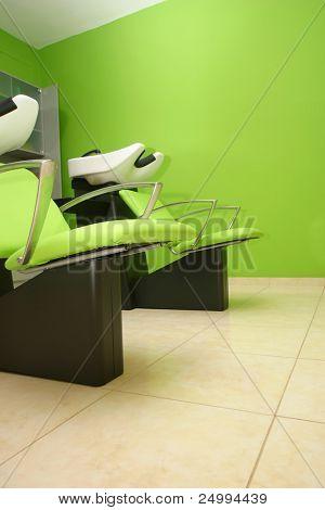 hairdressing studio basin