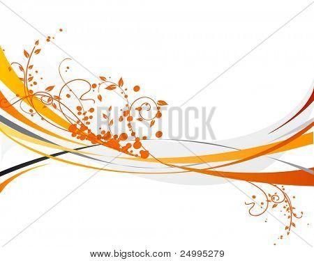 Diseño naranja