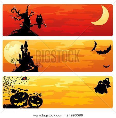 Banners de Halloween