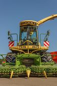 Modern Seed Planting Machine For Agriculture. Mechanization Of Agriculture. poster