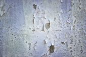 Concrete Wall With Exfoliating Putty Background For Design Concept Architecture poster