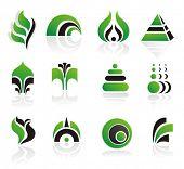 Постер, плакат: набор векторных логотип или дизайн элементов
