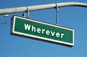 Wherever Sign