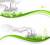 picture of environmental pollution  - Environmental banners - JPG