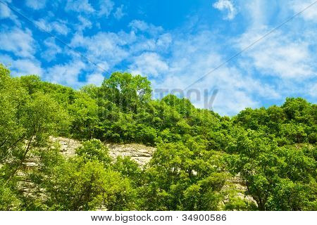 Hurst And Blue Sky
