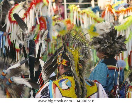 JULYAMSH NATIVE AMERICAN Pow Wow Dancers