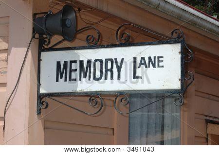 Memory Lane Sign