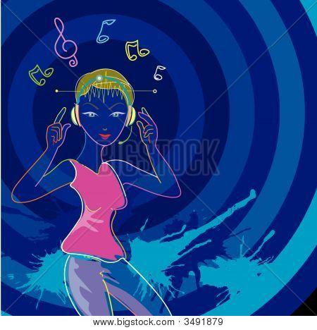 Neon Music Style
