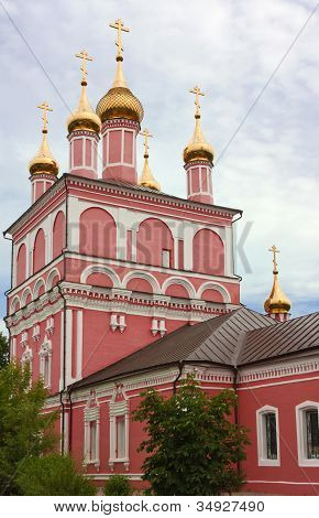 The Church Of Boris And Gleb In Borovsk,russia