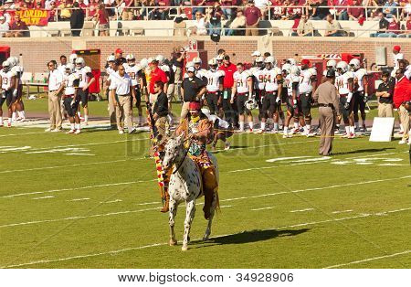 Official Symbols Of Florida State: Chief Osceola And Renegade