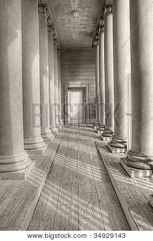 Columned Hall