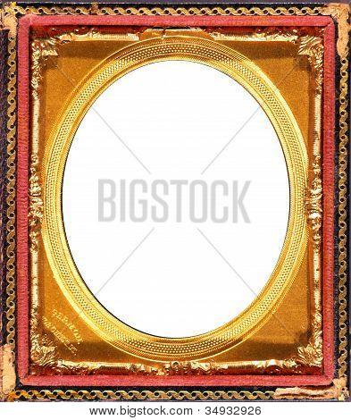 Oval Vintage Pocket Frame