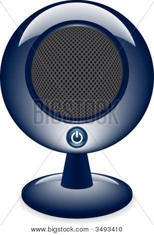 Desktop Speaker Vector