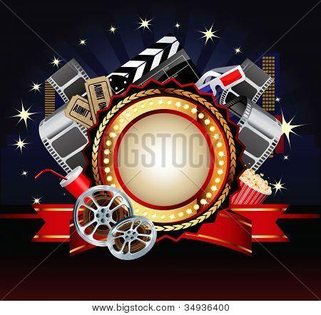 Composição de tema de filme ou película.