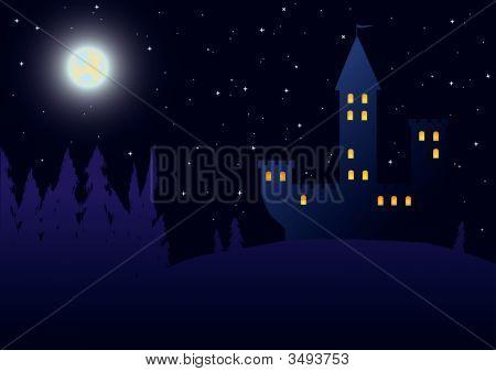 Castillo en la oscuridad