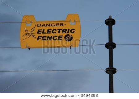 Danger! Electric Fence