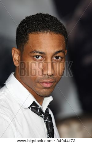 HOLLYWOOD - JAN 11: Brandon T. Jackson attends The Book of Eli premiere on January 11 2010 at Grauman's Chinese Theater in Hollywood, California.