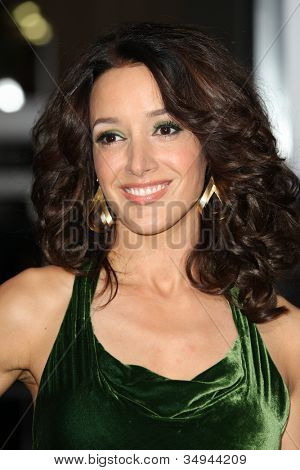 HOLLYWOOD - JAN 11:  Jennifer Beals attends The Book of Eli premiere on January 11 2010 at Grauman's Chinese Theater in Hollywood, California.