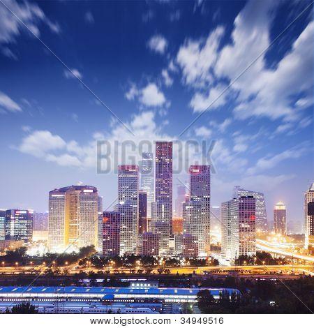 paisagem da cidade moderna, beijing