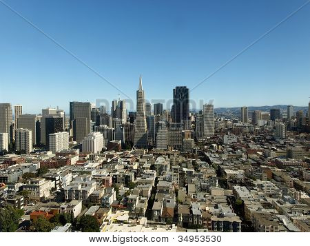 Financial District Of San Francisco
